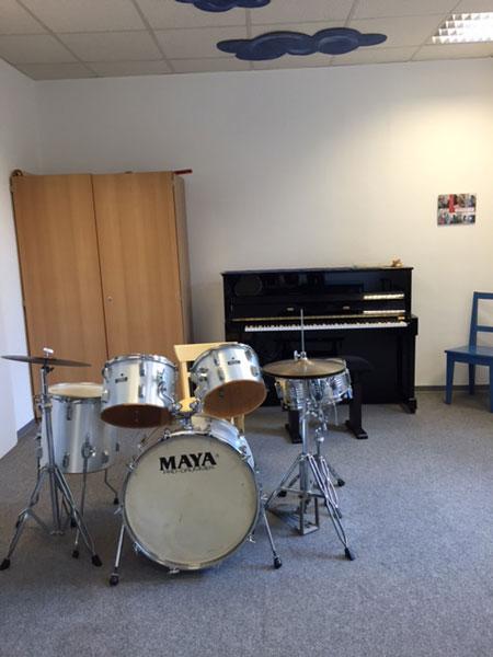 Schlagzeug Raum